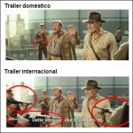 "Censura en el trailer en español de ""Indiana Jones IV"""