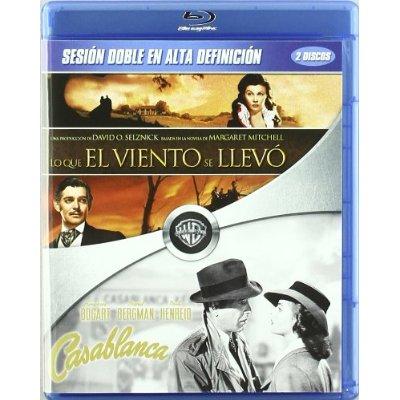 Lo que el viento se llevo y Casablanca en Blu-Ray