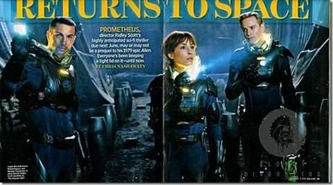 Prometheus de Ridley Scott