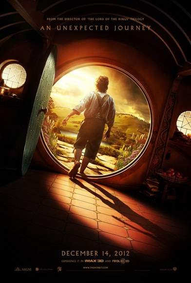 El Hobbit, póster
