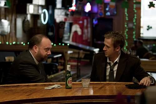 Ryan Gosling y Paul Giamatti.