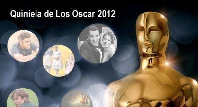 Quiniela de los Oscar 2012.