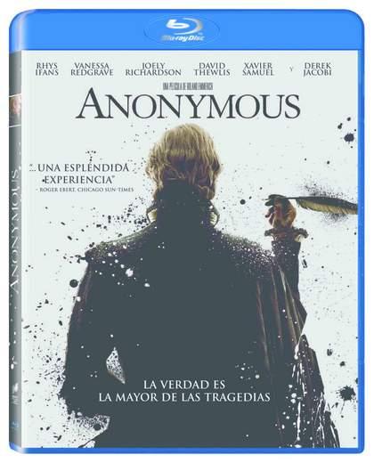 Anonymous carátula Blu-Ray.