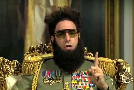 El Dictador nuevo trailer.