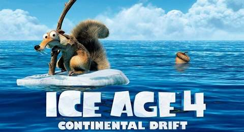Ice Age 4. Nuevo trailer en español.