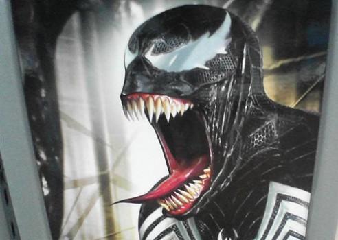 Venom. Spider-Man.