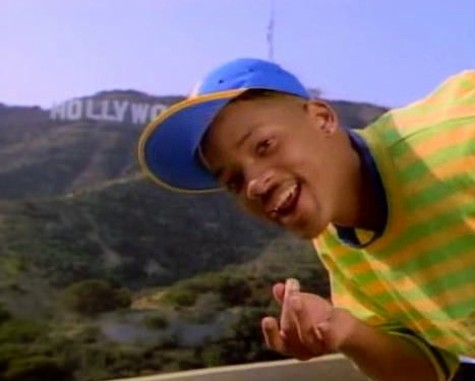 Will Smith en El Principe de Bel-Air.