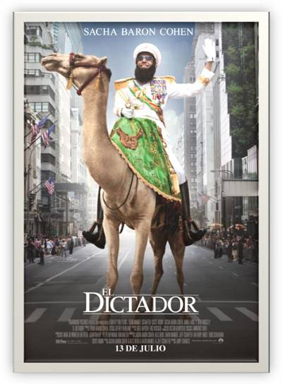 Póster de El Dictador.