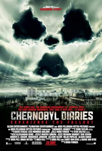 Póster de Chernobyl diaries.
