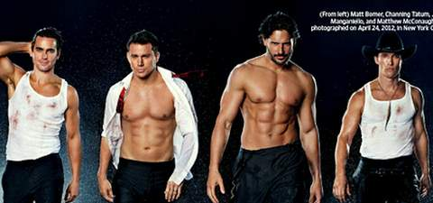 Magic Mike desnudos.