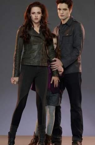 Bella y Edward.