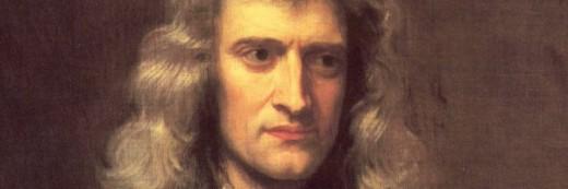 Isaac Newton héroe de acción.