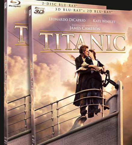 Titanic en Blu-ray.