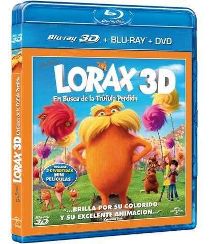 Lórax ya en Blu-ray.