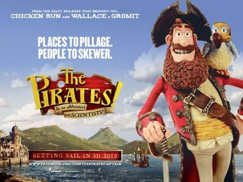 Piratas póster.