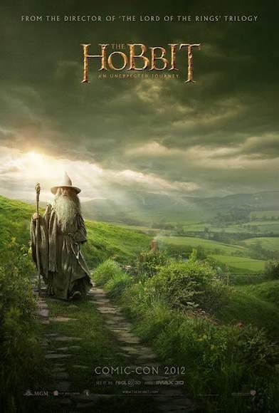Póster de El Hobbit.