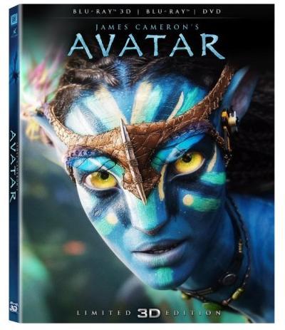Avatar Blu-ray 3D.