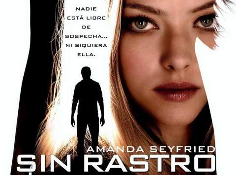 Sin Rastro, banner.