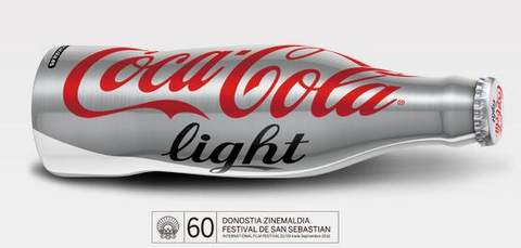 Coca-cola con el festival de San Sebastián.