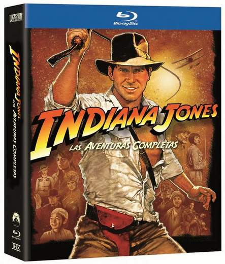 Indiana Jones en Blu-Ray.