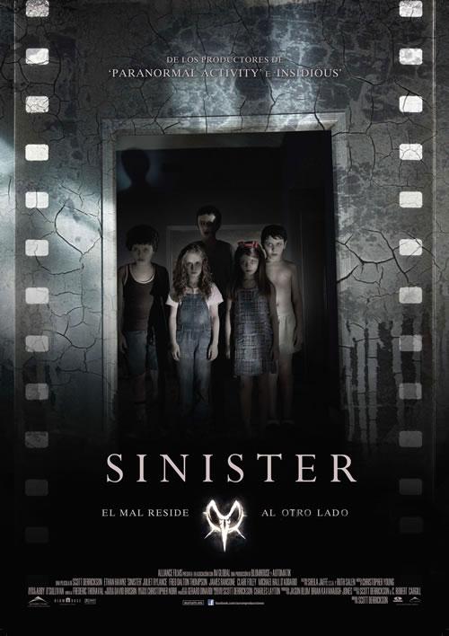 Póster de Sinister.
