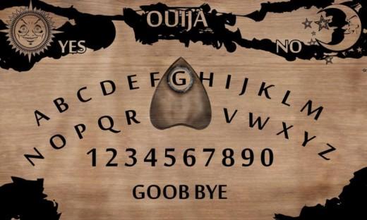 Ouija tablet.