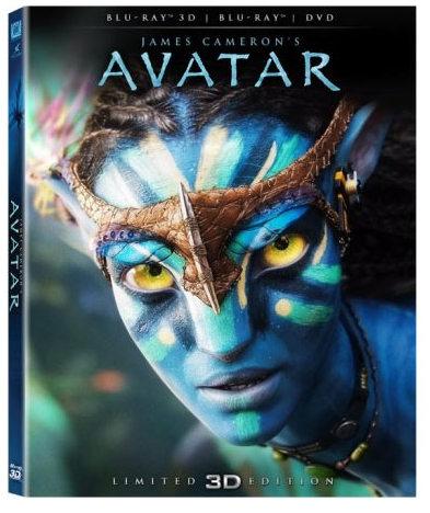 Avatar en Blu-ray 3D.
