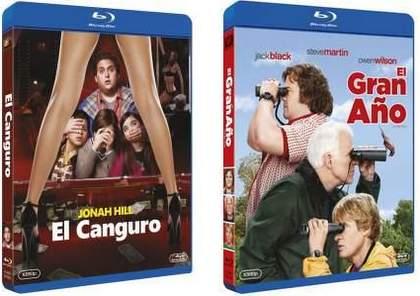 Concurso Blu-ray El Gran año y El Canguro.
