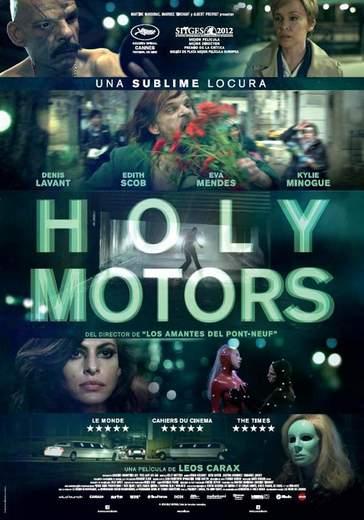 Póster de Holy Motors.