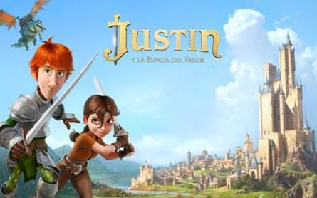 Justin y la espada del valor.