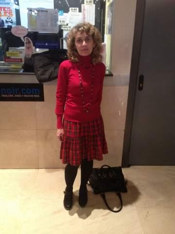 Nuestra colaboradora Susana Peral.