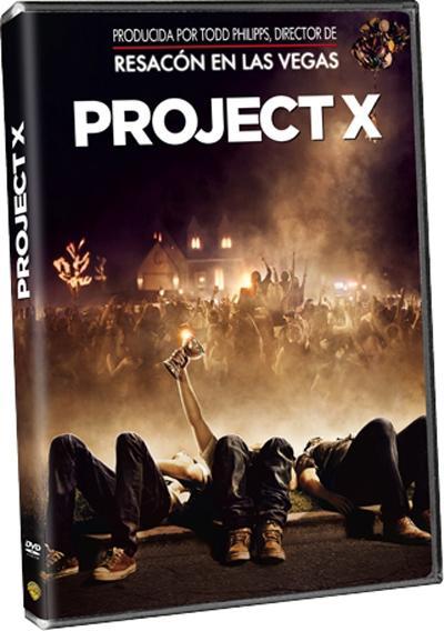 Project X en DVD.