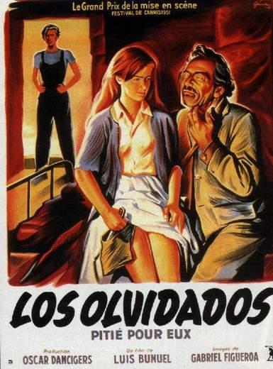 Póster de Los Olvidados de Luis Buñuel.