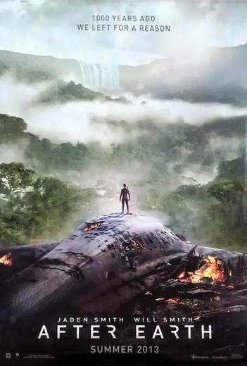 Primer póster de After Earth.