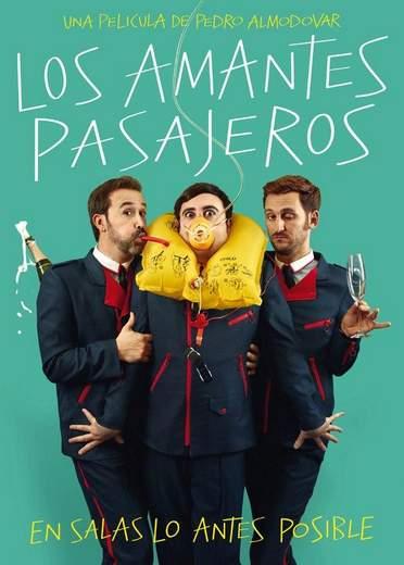 Primer póster de Los Amantes pasajeros.