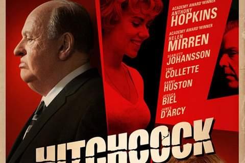 Póster de 'Hitchcock'.