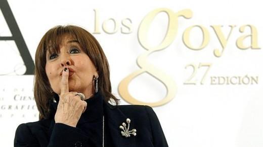Concha Velasco Goya de Honor 2013.