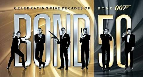 James Bond 50 aniversario.