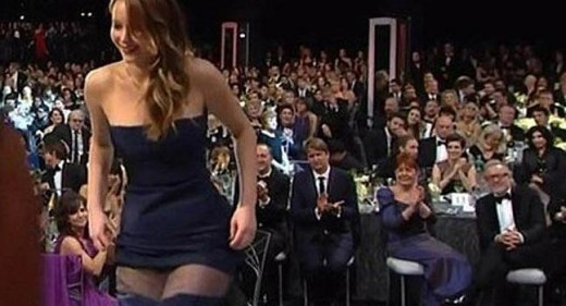 Jennifer Lawrence vestido