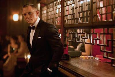 Imagen de Daniel Craig en Skyfall.