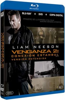 Blu-ray de Venganza: Conexión Estambul