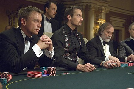 Poker en Casino Royale
