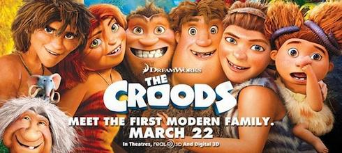 Los Croods, banner