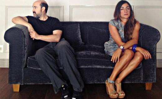 """Javier Cámara y Candela Peña en """"Ayer no termina nunca""""."""