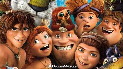 """Los Croods"", banner."