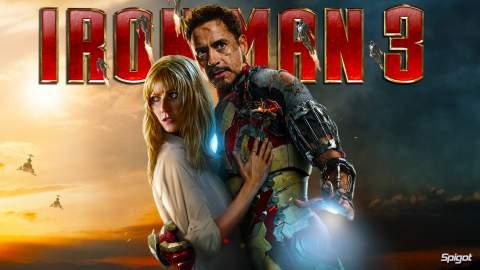 """""""Iron Man 3"""", imagen-póster."""