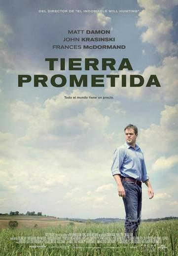 """Póster de """"Tierra Prometida""""."""