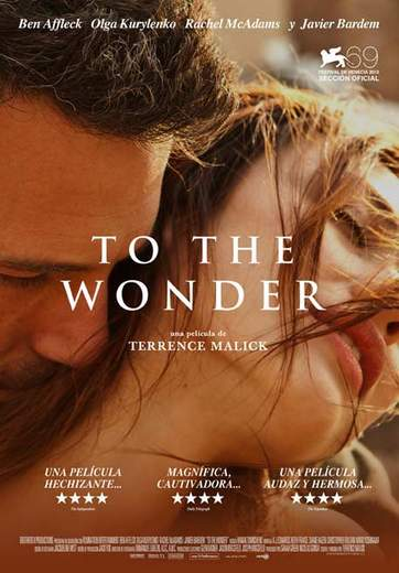 "Póster de ""To the Wonder""."