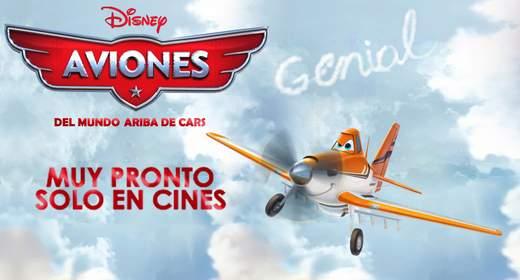 """Trailer de """"Aviones""""."""