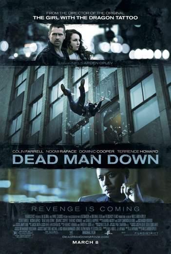 """Póster de """"Dead Man Down"""""""